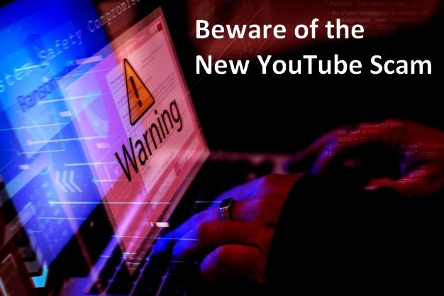 New Youtube Scam
