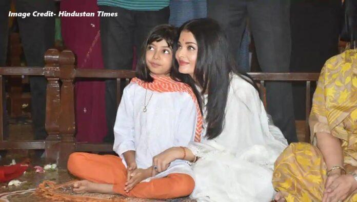 aishwarya and aaradhya